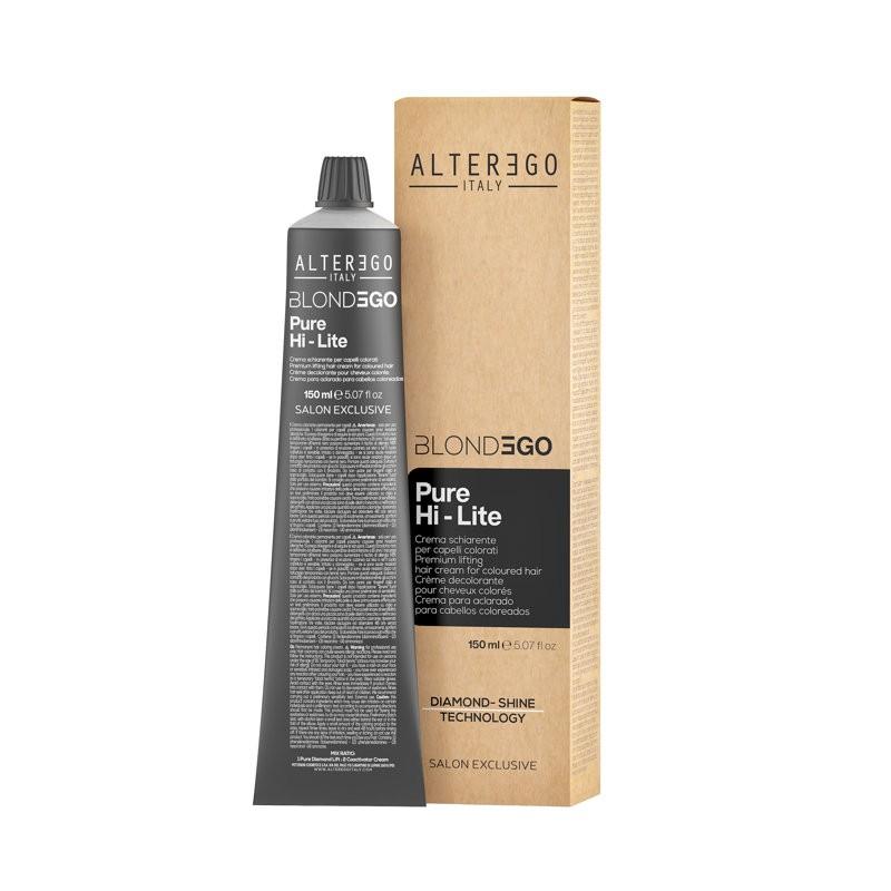 Alter Ego BlondEgo Pure Hi-Lite Kremowy rozjaśniacz 150 ml [2056]
