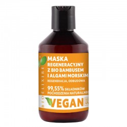 Bioelixire 1 Maska regeneracyjna z bio bambusem i algami morskimi 300 ml