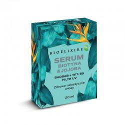 Bioelixire Serum Biotyna + Jojoba z filtrem UV 20 ml