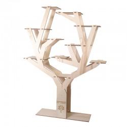 Alter Ego Drewniany ekspozytor w kształcie drzewa [4667]