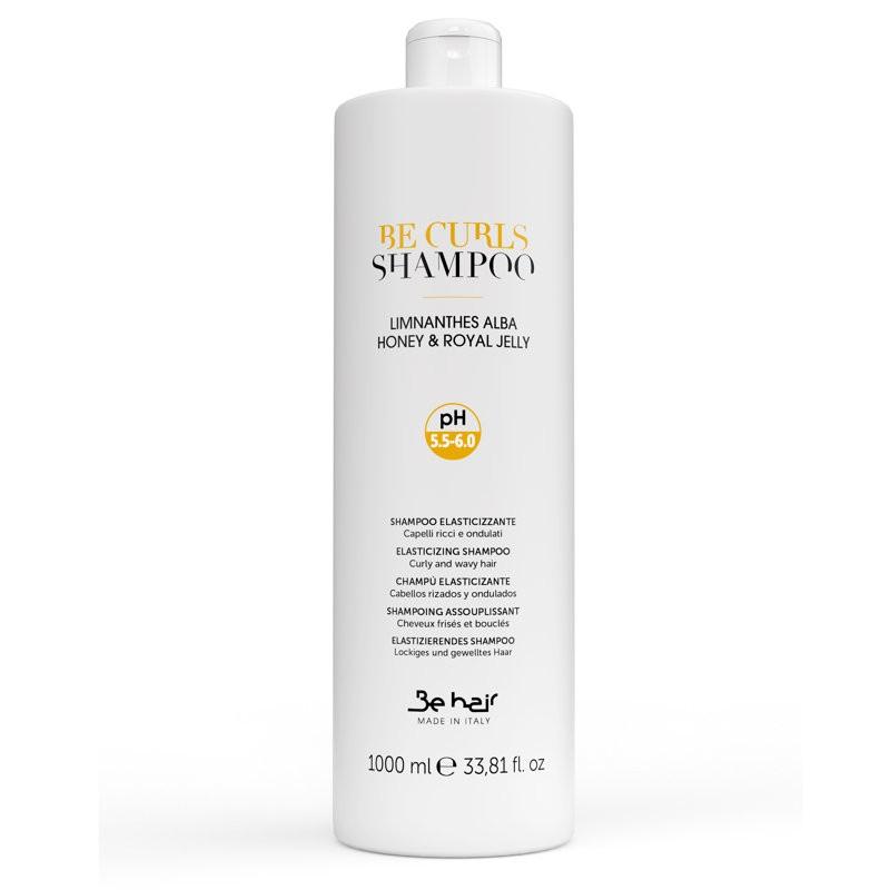 Be Curls Szampon do włosów kręconych 1000 ml | Elasticizing Shampoo