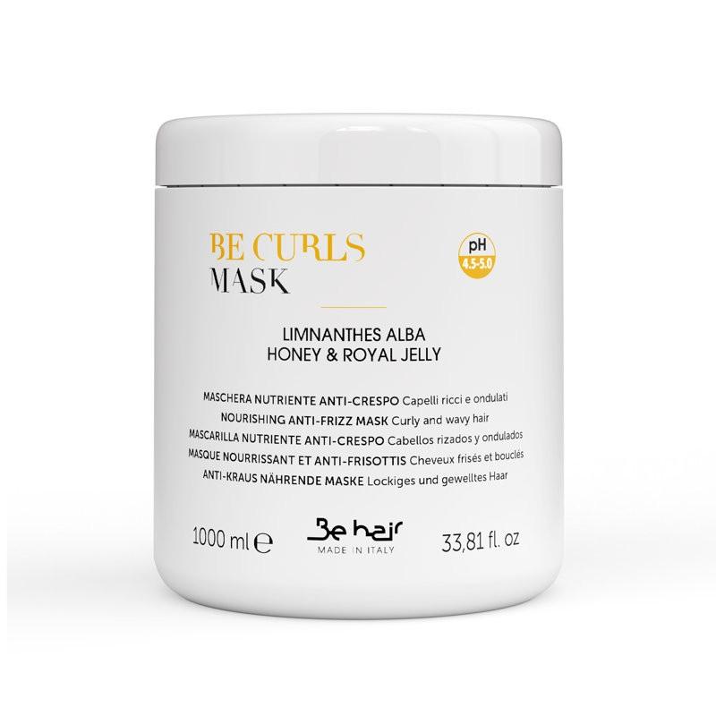 Be Curls Maska do włosów kręconych 1000 ml   Elasticizing Anti-frizz Mask