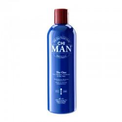 CHI MAN The One 3-in-1 Szampon, odżywka i płyn do mycia ciała 355 ml