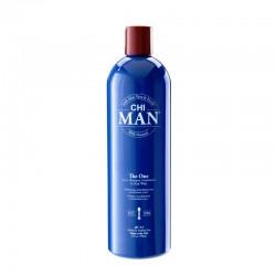 CHI MAN The One 3-in-1 Szampon, odżywka i płyn do mycia ciała 739 ml