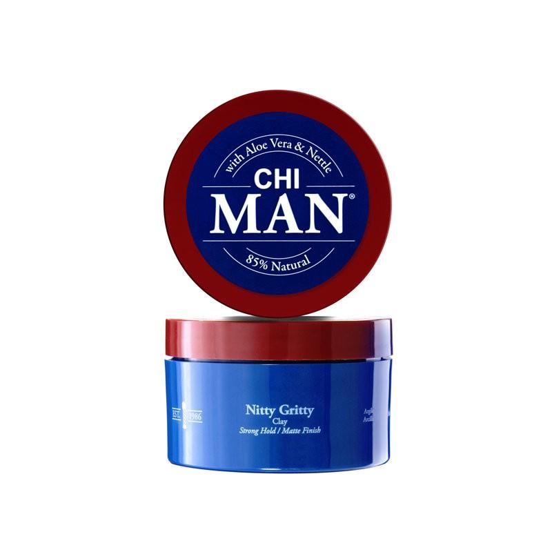 CHI MAN Nitty Gritty Clay Glinka do włosów 85 g